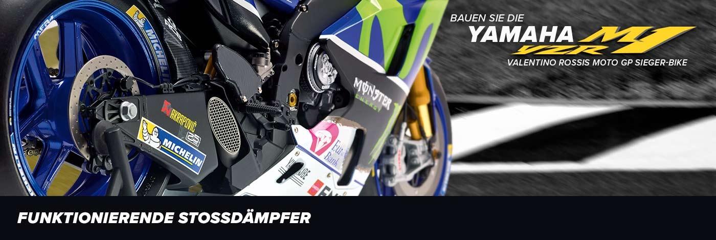 Bauen Sie Valentino Rossis Yamaha YZR-M1