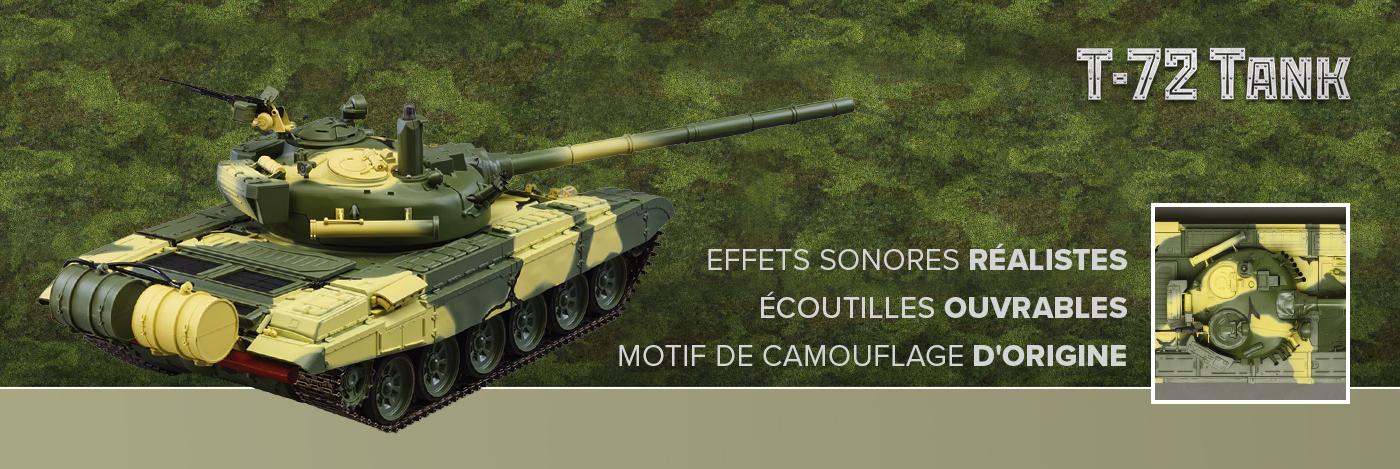 Char T-72 I Maquette échelle 1/16