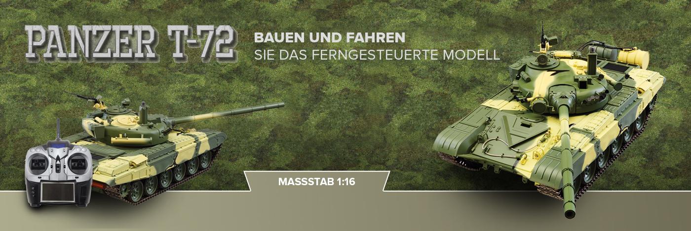 Bau und steuere den Russischen Panzer T-72