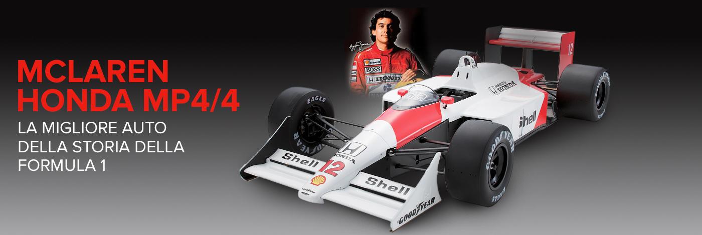 Costruisci e pilota la McLaren di Senna
