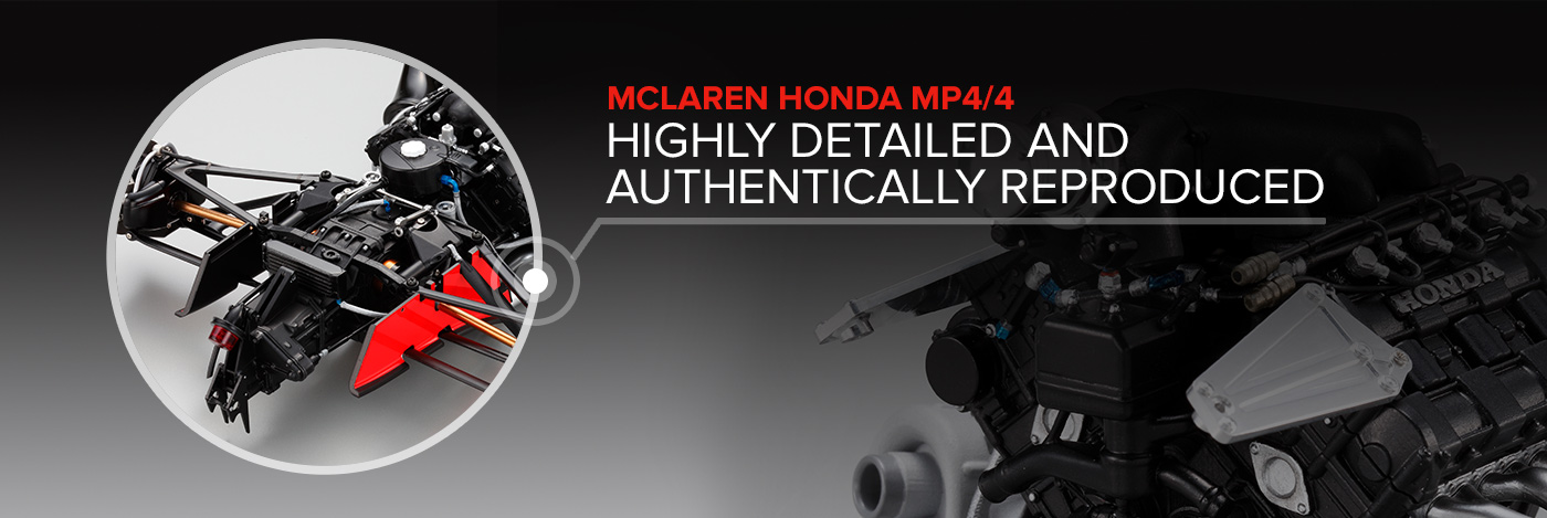 Build the McLaren Honda MP4/4