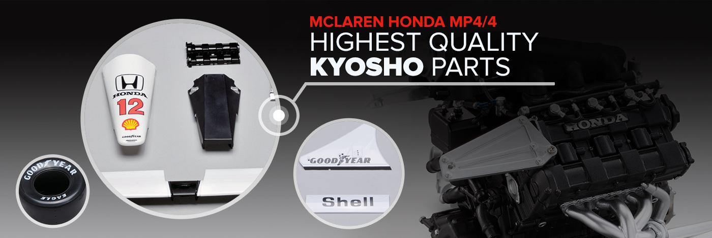 Build the McLaren Honda MP4/4
