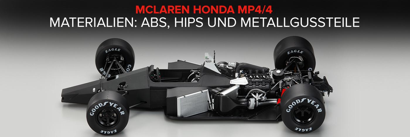 Bauen Sie Ayrton Sennas McLaren Honda MP4/4