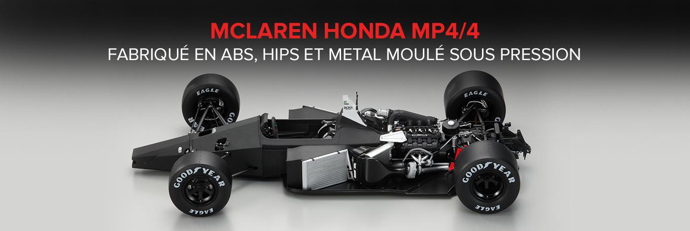 Construisez votre Mclaren Honda MP4/4