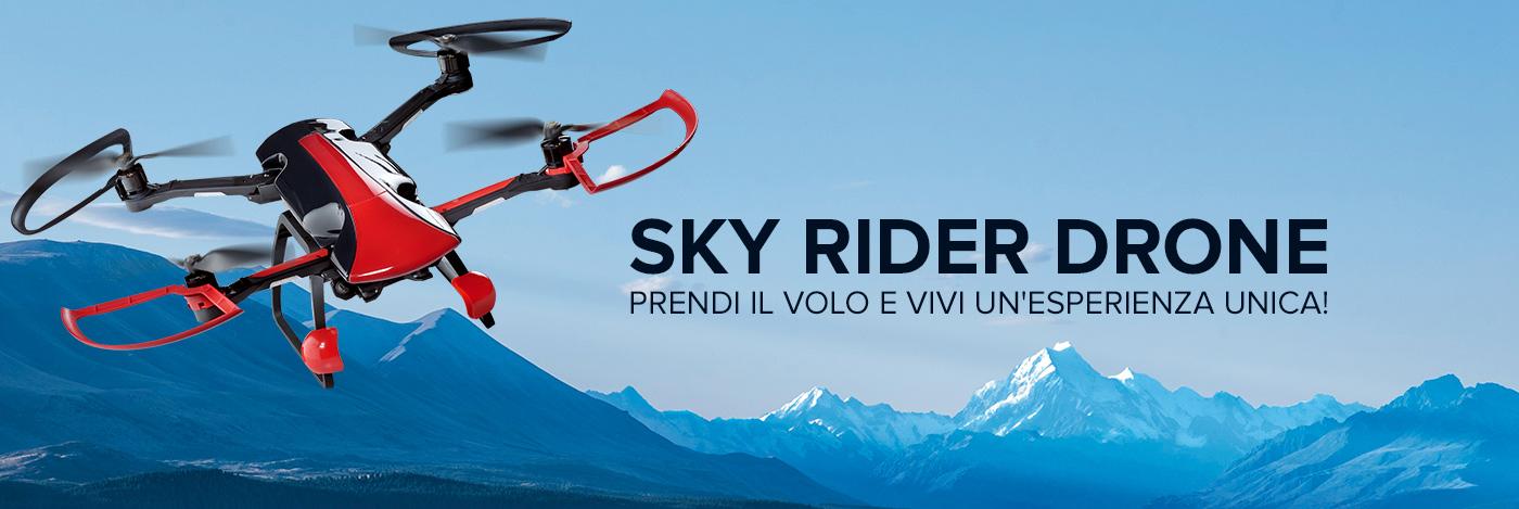 Costruisci e pilota il tuo Sky Rider Drone