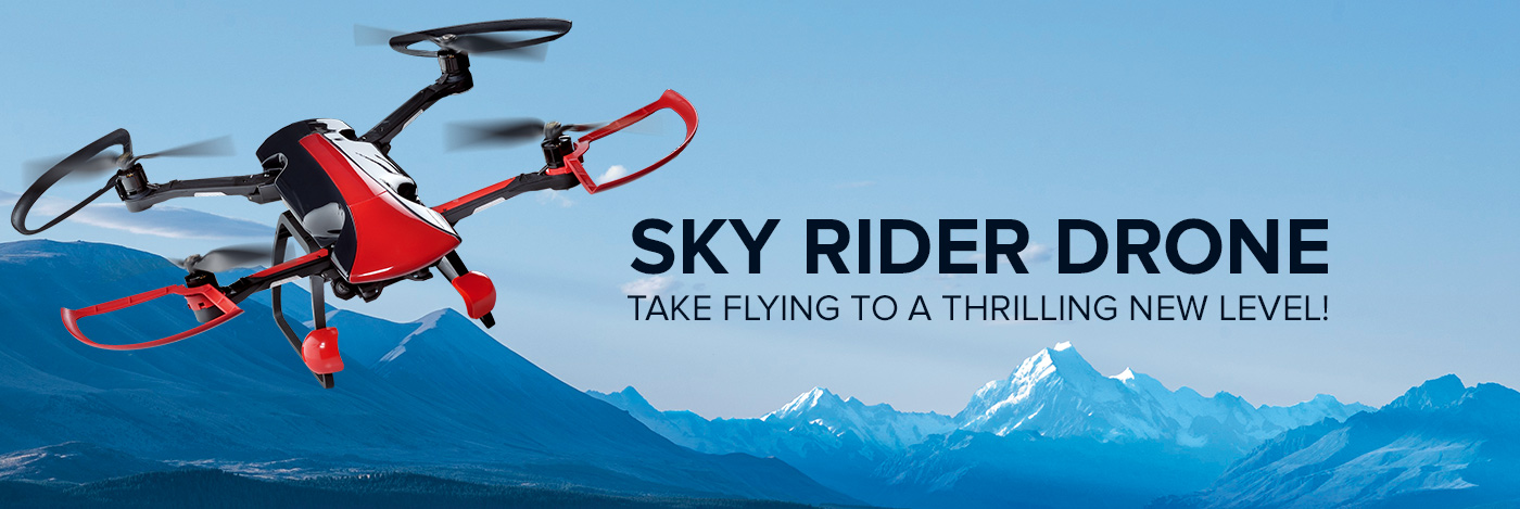Build the Sky Rider Drone