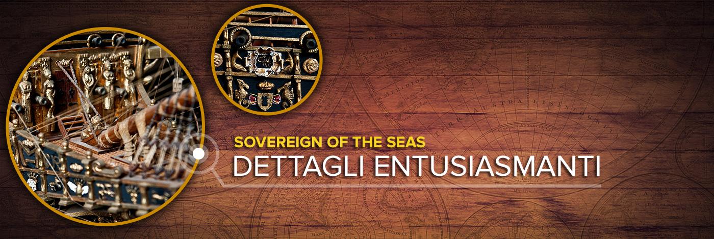 Costruisci il Sovereign of the Seas