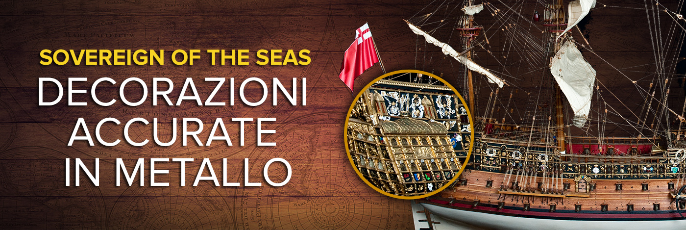 Costruisci il Sovereign of the Seas