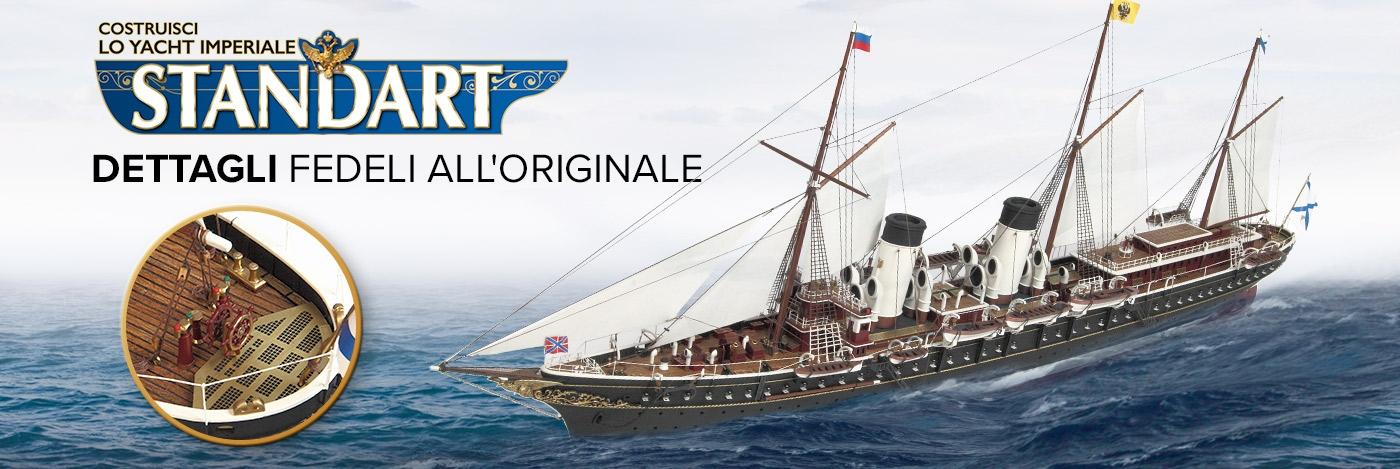 Costruisici lo Yacht Standart