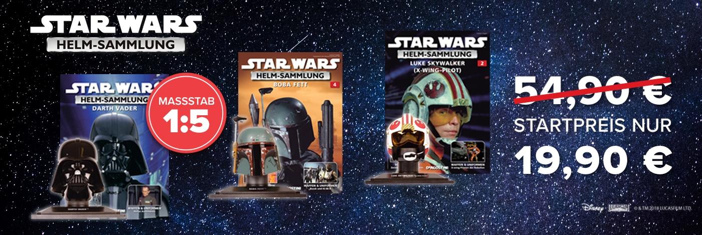 Star Wars Helm Sammlung