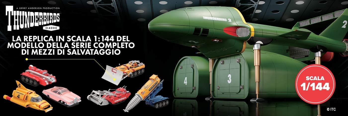 Costruisci il Thunderbird 2