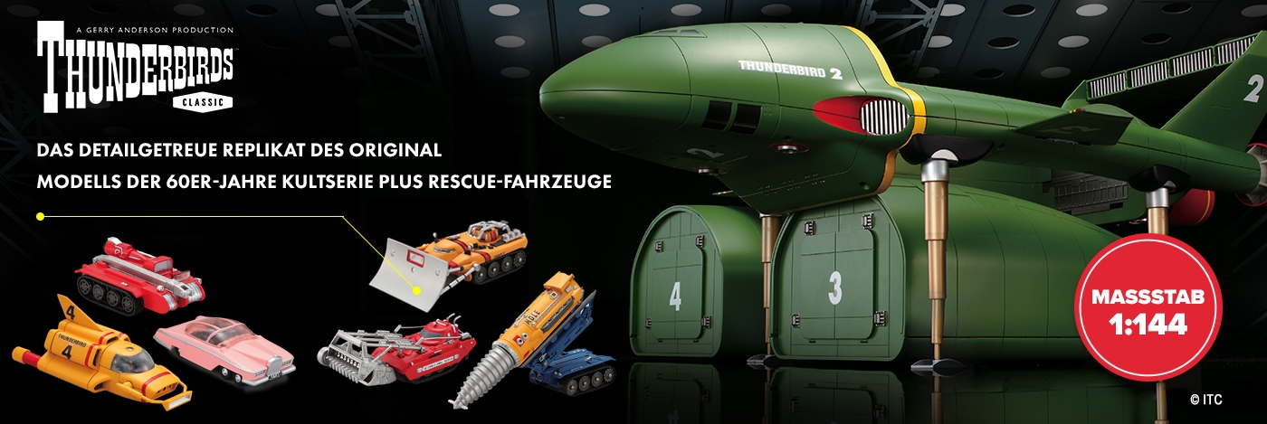 Build your own Thunderbird 2