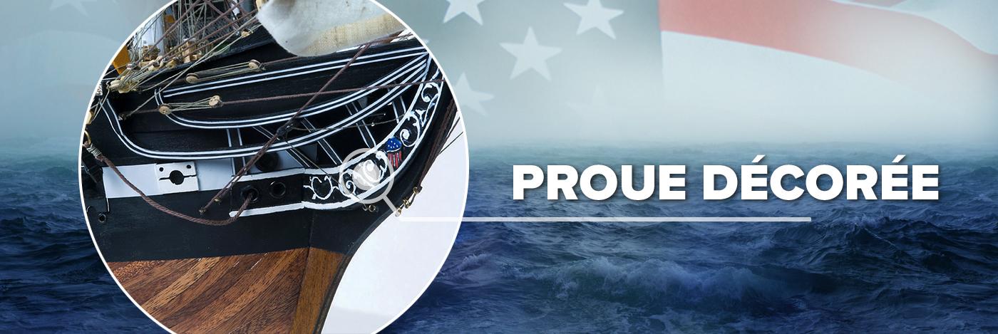 Construisez l'USS Constitution