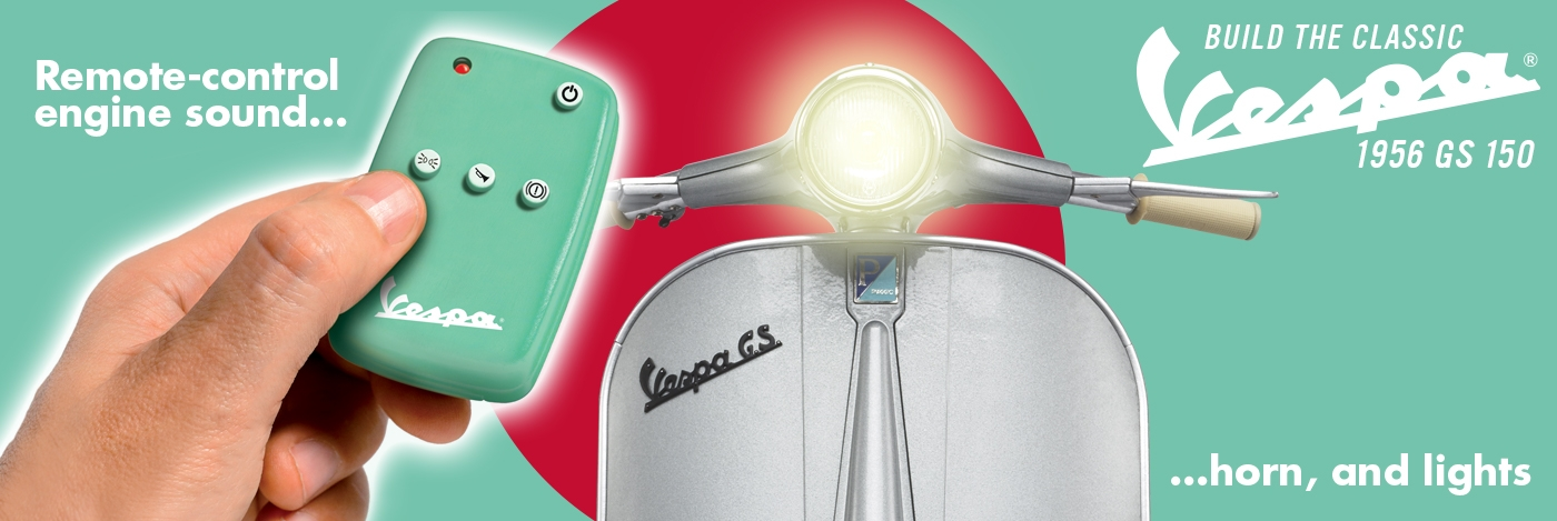 Build the Vespa GS 150