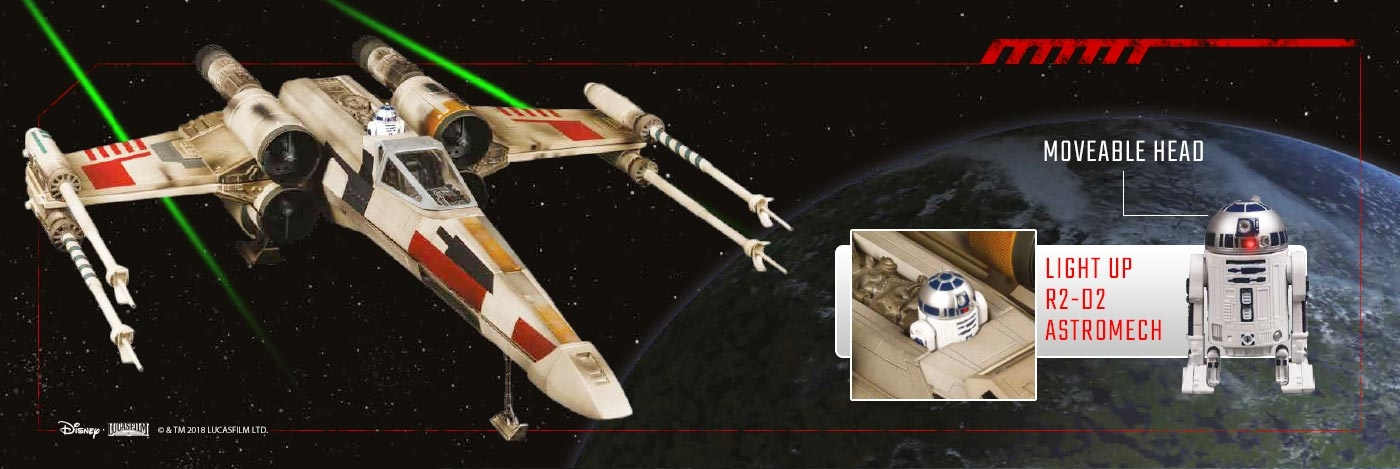 Build Your Own X-wing