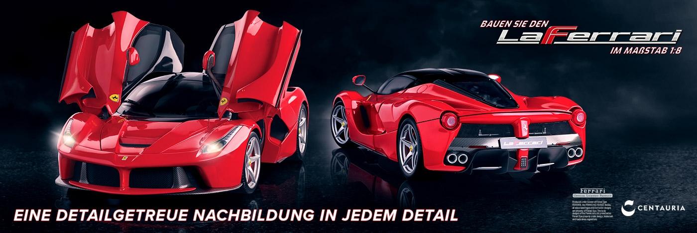 Bauen Sie den La Ferrari