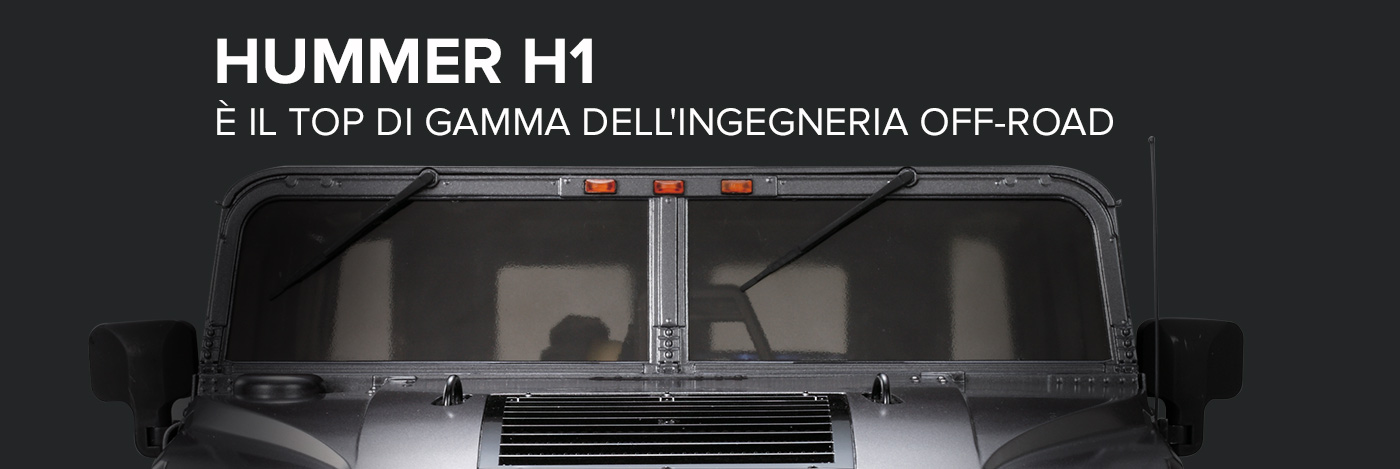 Costruisci e pilota l'Hummer H1