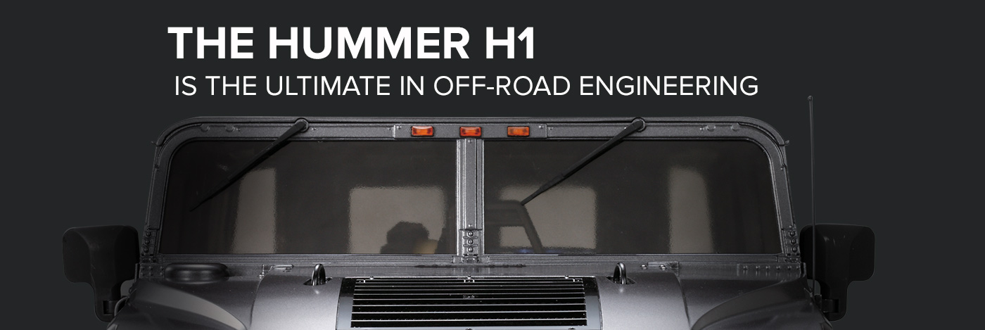 Build and Drive the Hummer H1