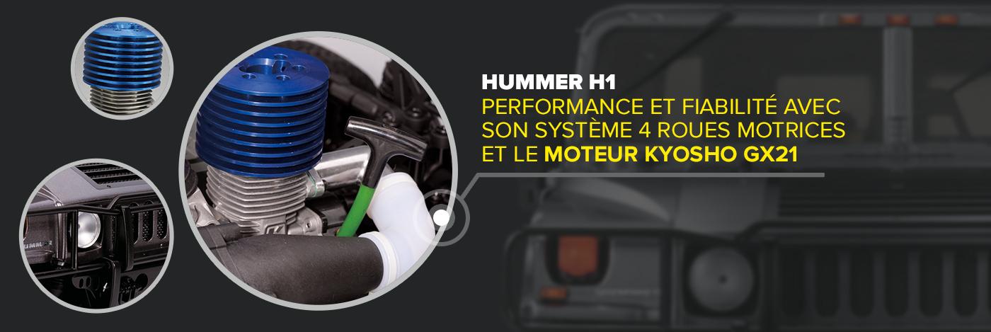 Construisez et pilotez votre Hummer H1