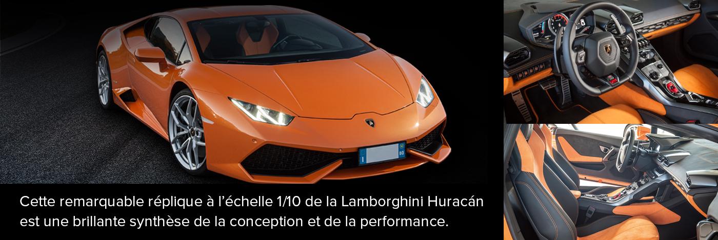 Construisez et pilotez Lamborghini Huracan
