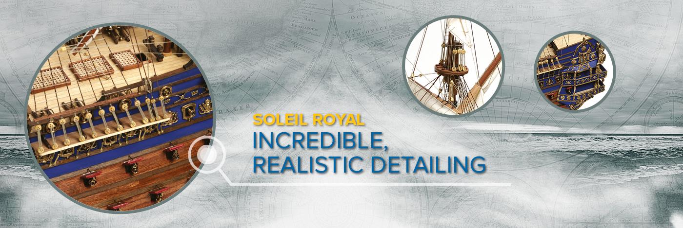Build the Soleil Royal