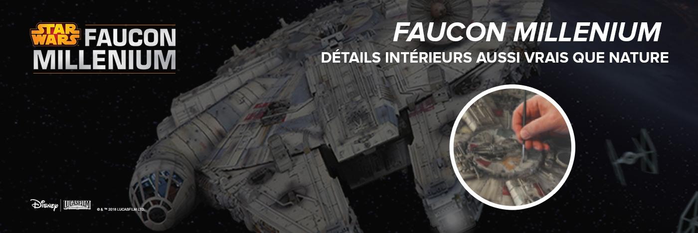Construisez le Faucon Millenium | Echelle 1:1