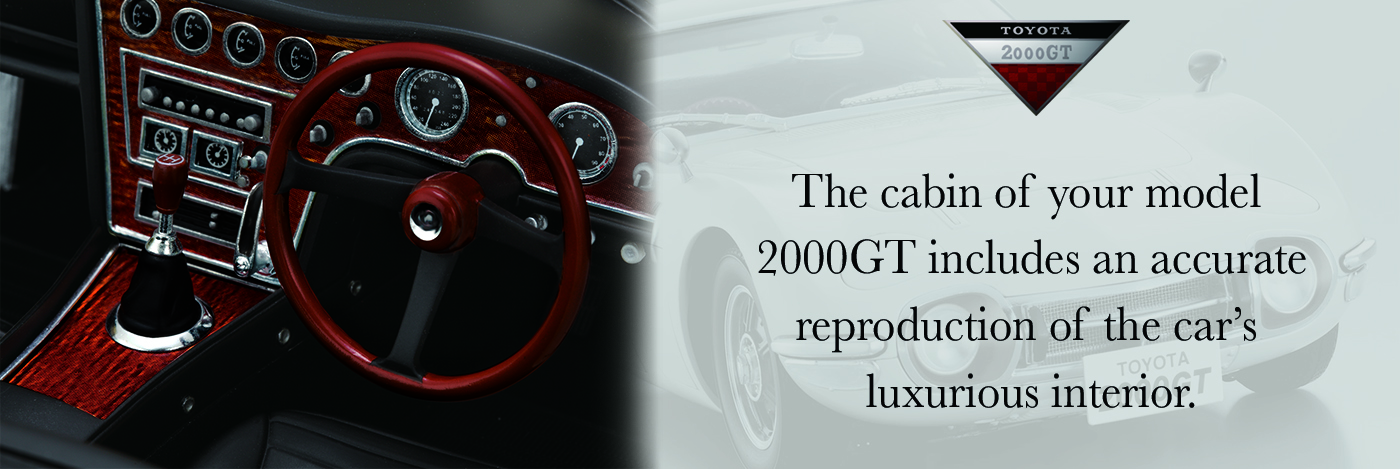 Build the Toyota 2000 GT