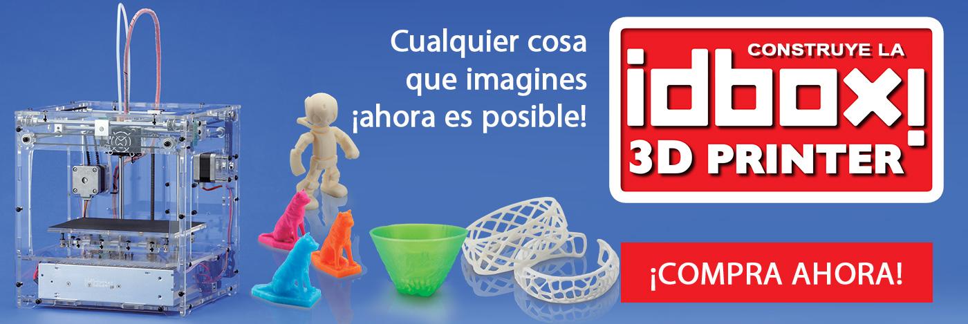 Construye la impresora 3D idbox!