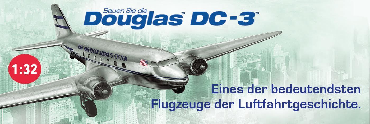 Bauen Sie die Douglas DC-3