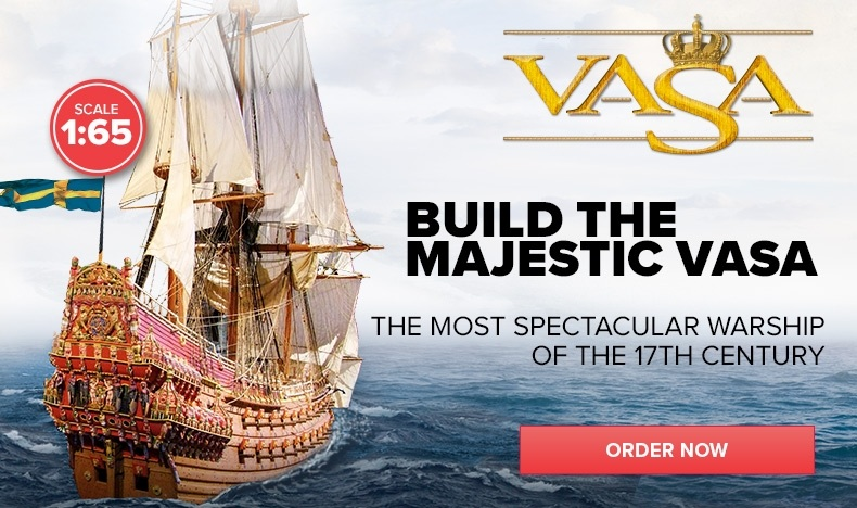 Build the Majestic Vasa