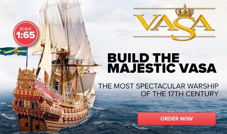 Build the Majestic Vasa