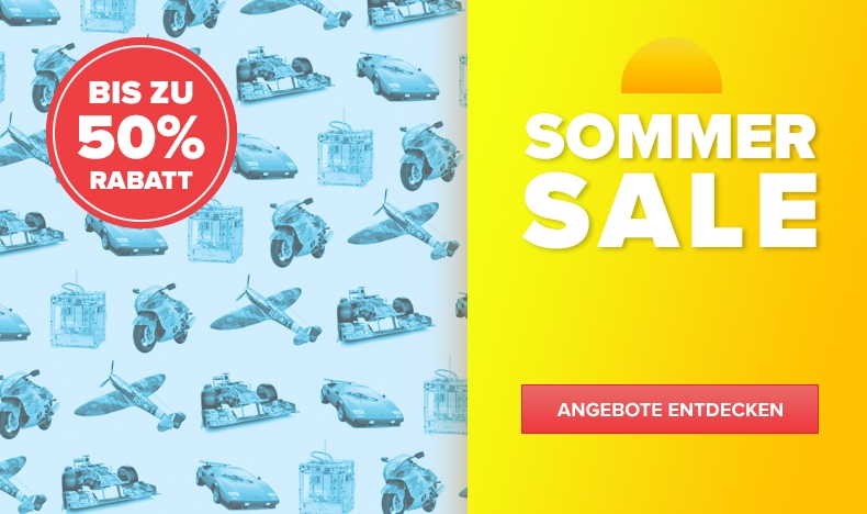 Sommer-Sale - Bis zu 50% Rabatt