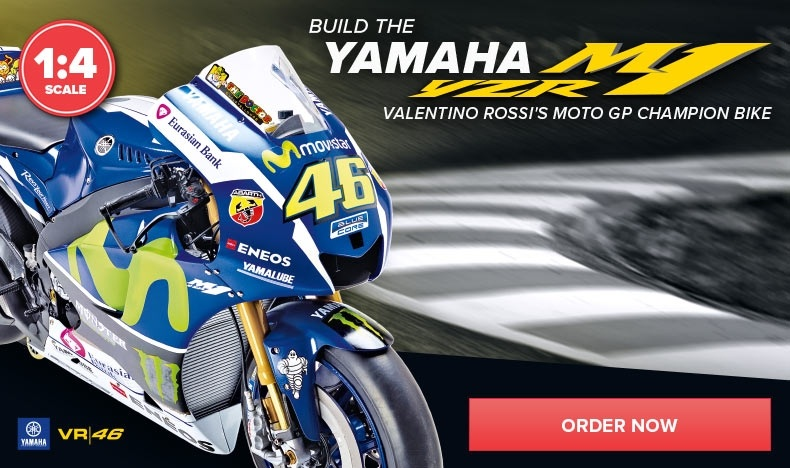 Build the Yamaha YZR-M1