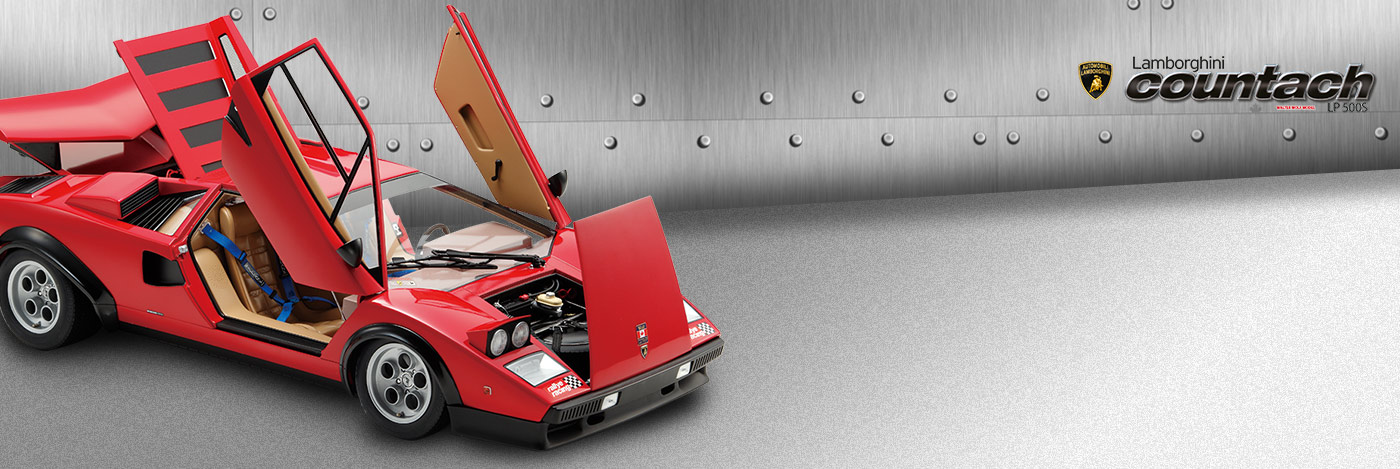 Lamborghini Countach Model Kit - 1:8 scale model