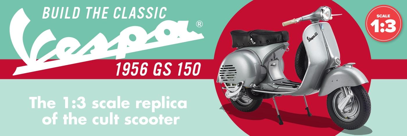 Build your Vespa GS 150