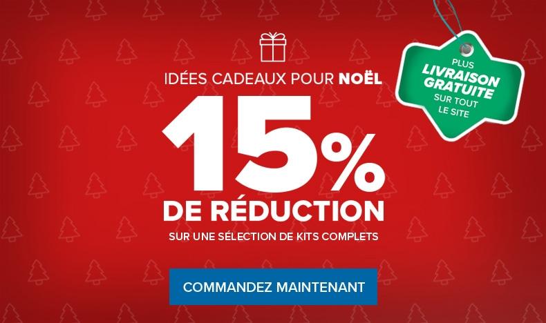 15% de réduction sur une sélection de kits complets