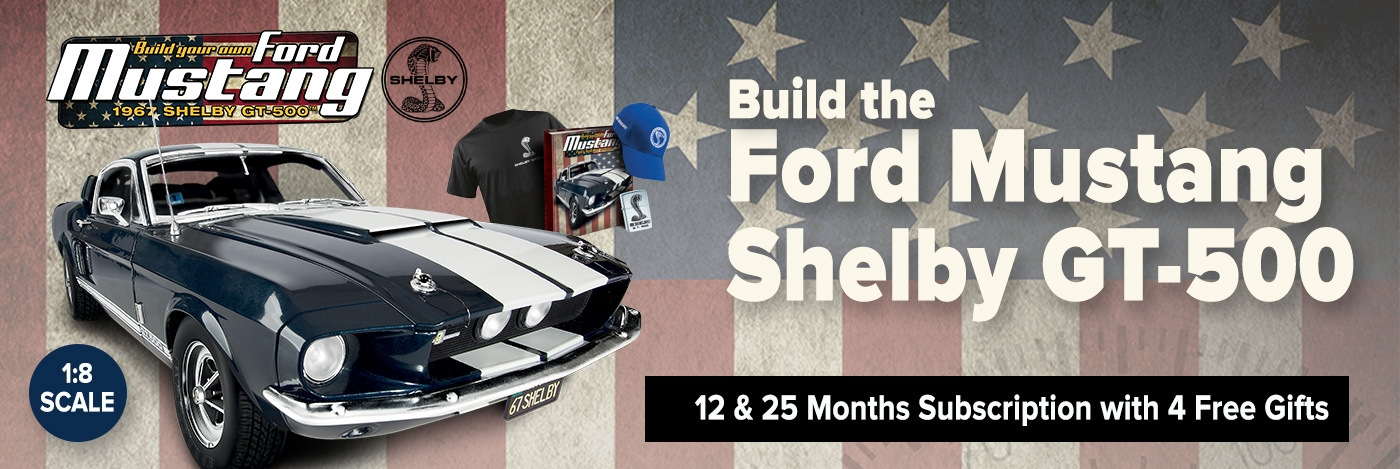 Build the Ford Mustang Shelby