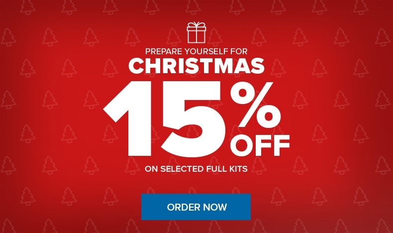 Prepare for Christmas: 15% Off