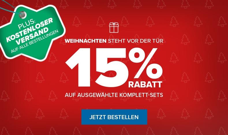 Aktion: 15% Rabatt auf Modellbau-Sets