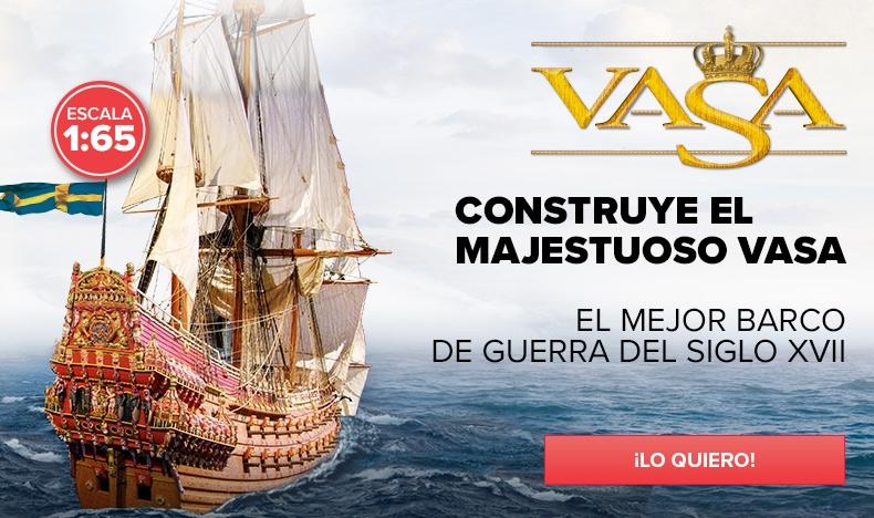 Construye el Vasa