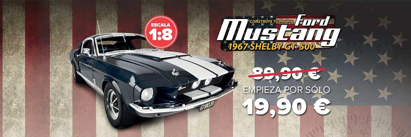 Construye el Ford Mustang Shelby