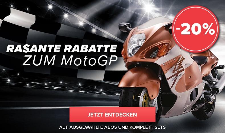 20% MotoGP-Rabatt