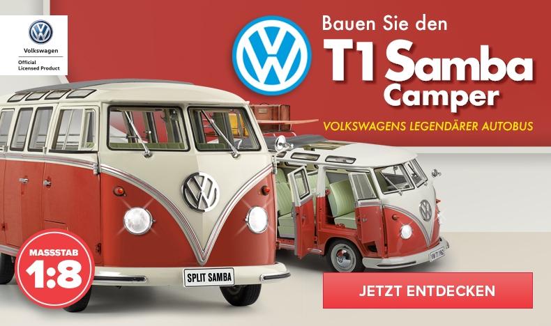 Bald erhältlich - VW Camper Samba T1