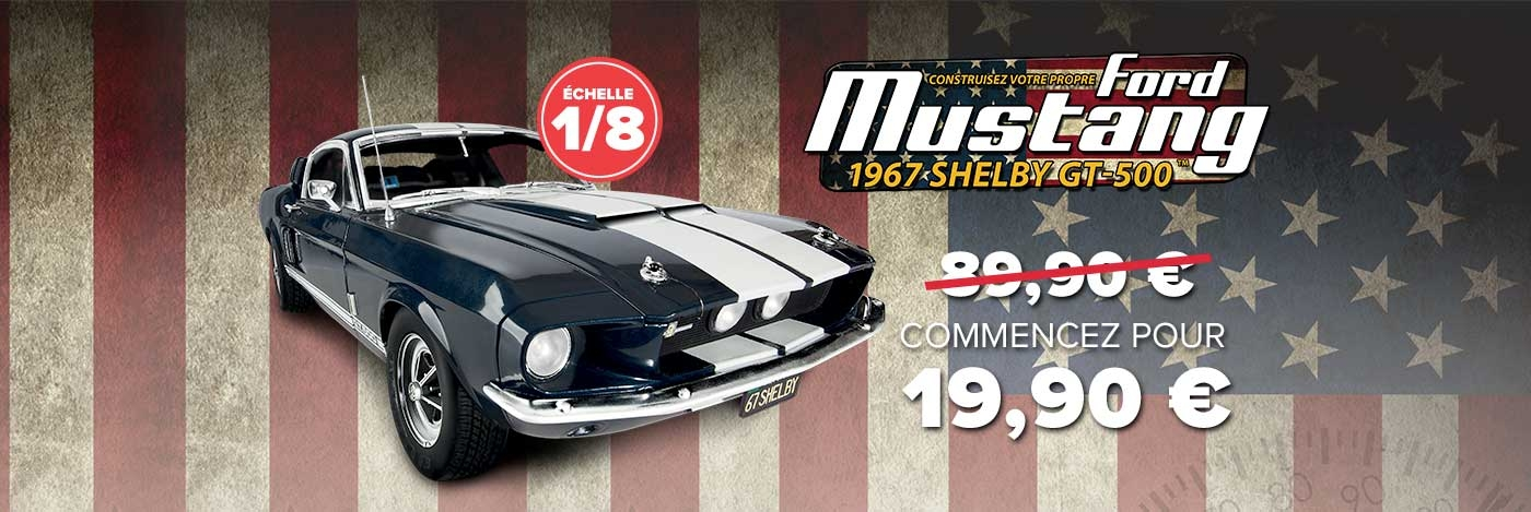 Construiszez votre Ford Mustang Shelby