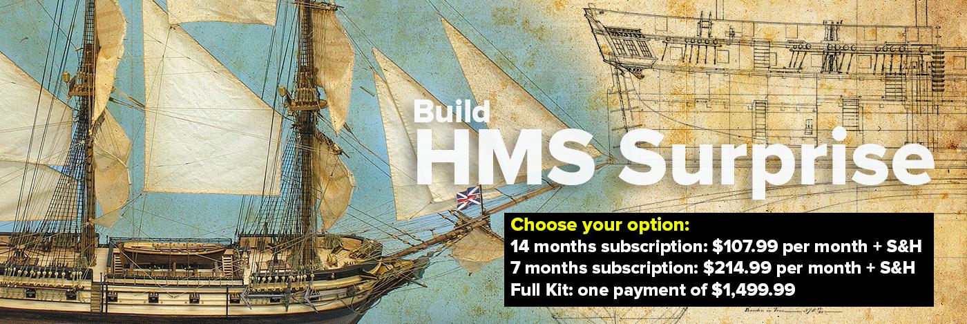 Build HMS Surprise