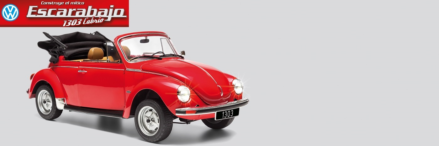 VW Escarabajo Cabrio 1303