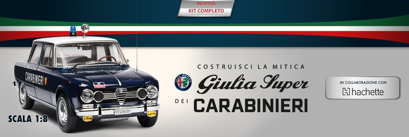 Alfa Romeo Giulia dei Carabinieri