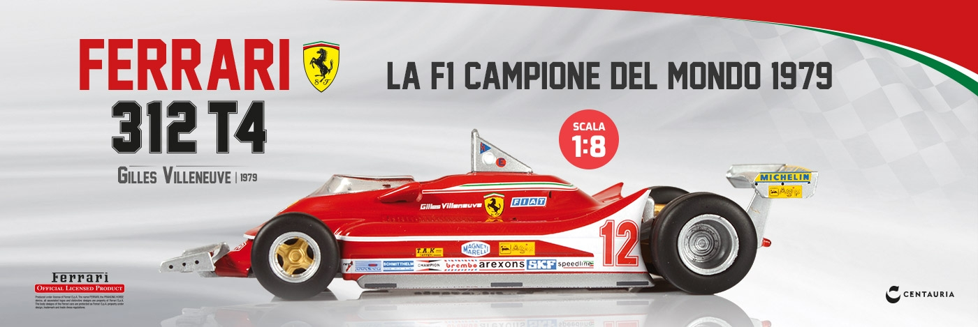 Costruisci la Ferrari 312
