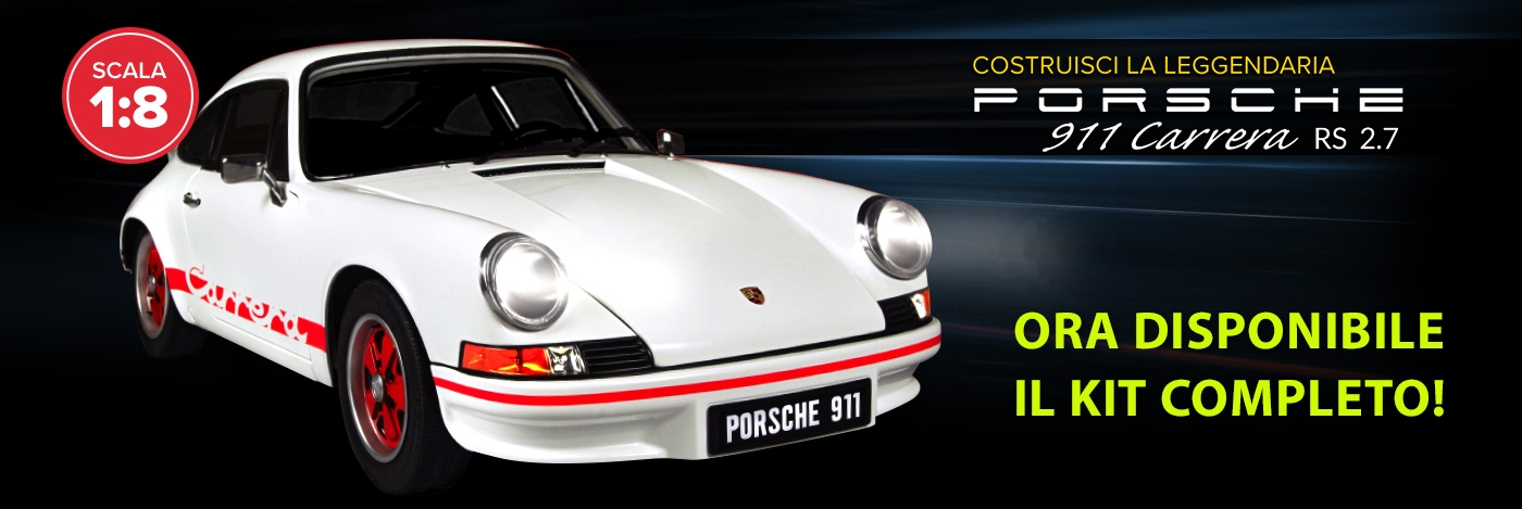 Porsche Modello in kit completo