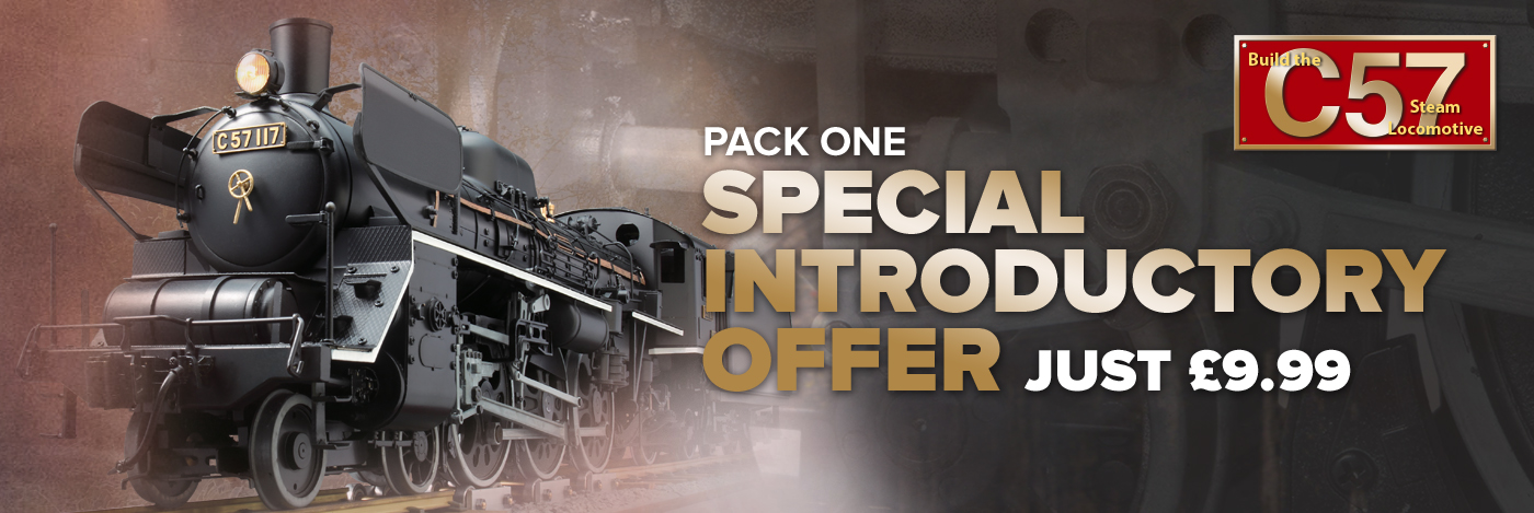 Build the C57 Locomotive - Special Introductory Offer